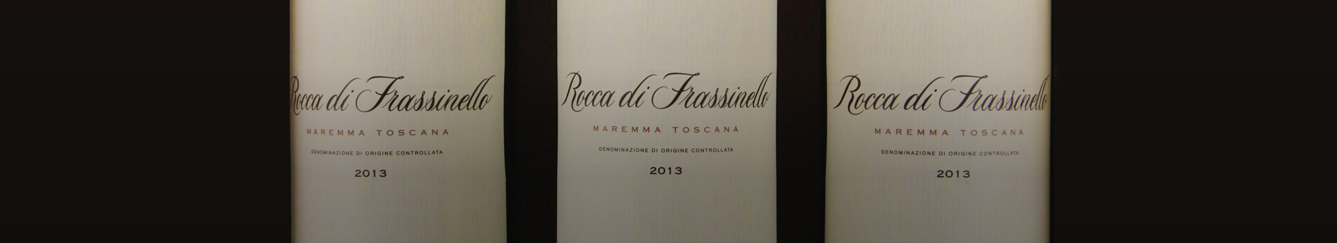 ROCCA DI FRASSINELLO 201395 POINTS FROM ROBERT PARKER!
