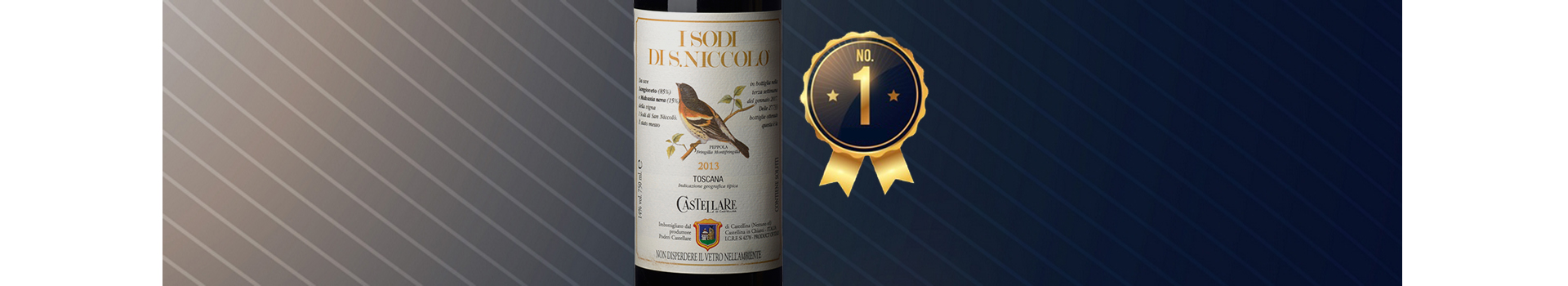 I SODI DI S.NICCOLÒ 2013 THE BEST ITALIAN RED WINE