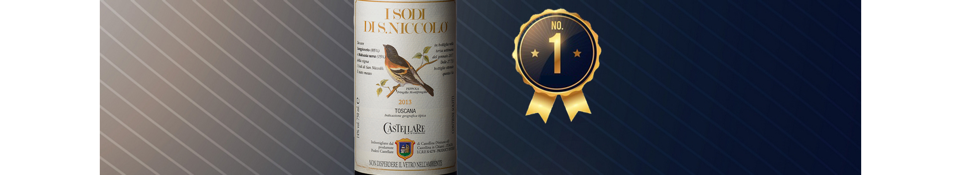 I SODI DI S. NICCOLÒ 2013 THE BEST ITALIAN RED WINE
