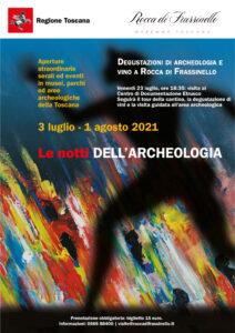 Locandina Notti Archeologia